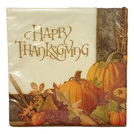 Napkins - BEV - Happy Thanksgiving - 16pc (Discontinued)