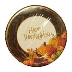 Paper Plates - LN - Happy Thanksgiving - 8pc (Discontinued)