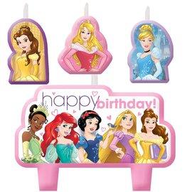 Candle Set-Disney Princess-4pk