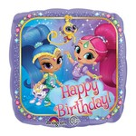 """Foil Balloon - Shimmer and Shine 18"""""""