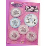 Bridal Buttons - 6pc