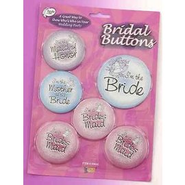 Bridal Buttons - 6pc
