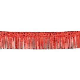 Fringe Garland Red