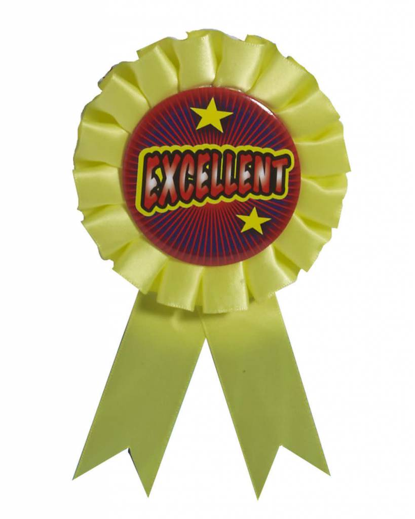 Award Ribbon Excellent Victoria Party Store