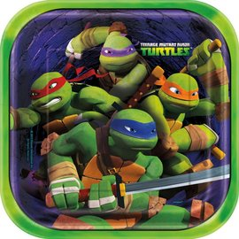 Bev Plates - Ninja Turtles- Discontinued