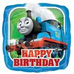 """Foil Balloon - Happy Birthday Thomas the Train - 18"""""""