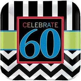 Plates LN - 60th Celebration - Discontinued