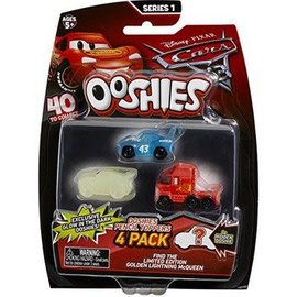 Disney Cars Ooshies 4 Pack