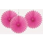 Paper Fans - Hot Pink
