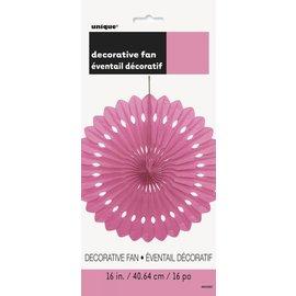 """Paper Fan - Hot Pink- 1pc/16"""""""