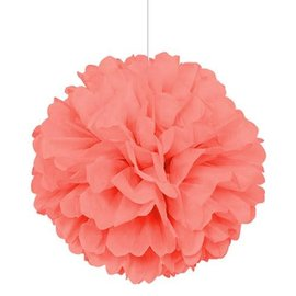 Puff Ball - Coral - Paper