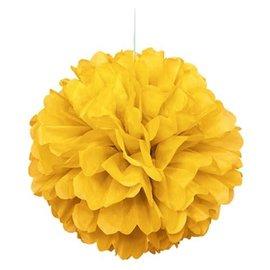 Puff Ball - Sun Yellow - Paper