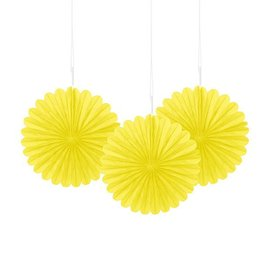 Paper Fan - Yellow