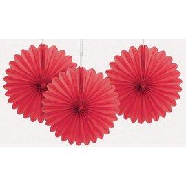 Paper Fan - Red