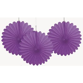 Paper Fan - Purple