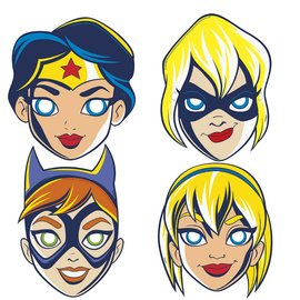 Masks - DC Super Hero Girls