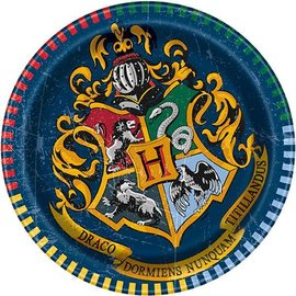 Plates - BEV - Harry Potter - 8pk - Paper