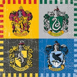 Napkins-BEV-Harry Potter-16pk-2ply
