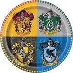 Plates-LN-Harry Potter-8pk-Paper