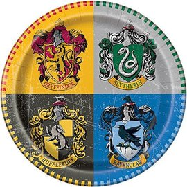 Plates-LN-Harry Potter-8pk-Paper
