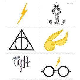 Tattoos-Harry Potter-24pk
