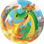 Plates - Dragon Party