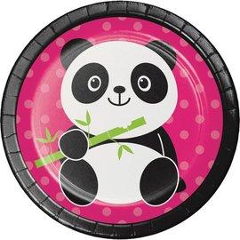 Plates Bev - Panda-monium
