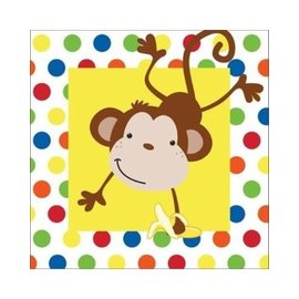 Napkins LN - Monkey