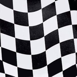 Napkins- BEV- Race Car Flag- Discontinued