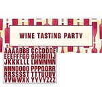 """Giant Party Banner-Sip Sip Hooray-Customizable-20"""" x 60""""-1 Count"""