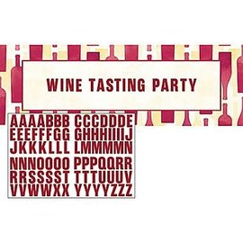 "Giant Party Banner-Sip Sip Hooray-Customizable-20"" x 60""-1 Count"