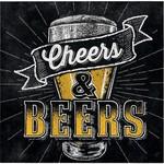 Napkins Bev - Beers and Cheers