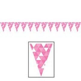 Banner-Candy Pink Fractal