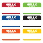 Name Tags - Hello My Name is