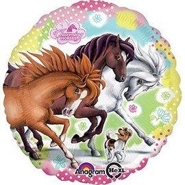 "Foil Balloon - Charming Horse's 18"""