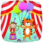 """Foil Balloon - Circus/18"""""""