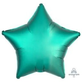 Foil Balloon - Jade Satin - Luxe Star - 19""