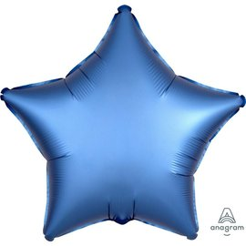 Foil Balloon - Azure - Satin Luxe Star - 18""