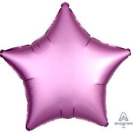 "Foil Balloon - Flamingo Satin Luxe Star 18"""