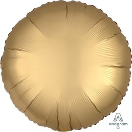 Foil Balloon - Gold - Satin Luxe Round - 18""
