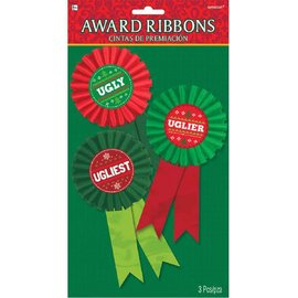 Award Buttons - Ugly Sweater Contest