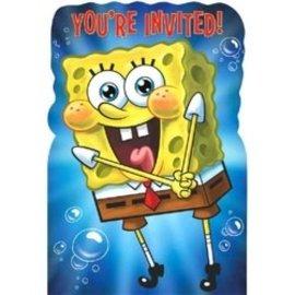 Invites - Sponge Bob