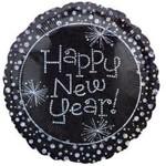 "Foil Balloon - Happy New Year! - 18"""