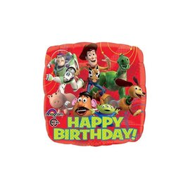 Foil Balloon - Happy Birthday Toy Story - 18""