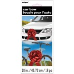 Car Bow - Red