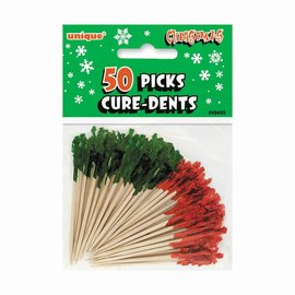 Picks - Red and Green Foil