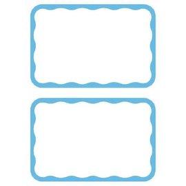 Name Tag - Blue Border