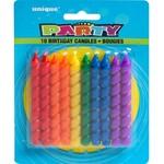 Candles - Rainbow Spiral