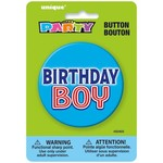 Button-Birthday Boy-1 pk