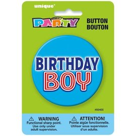 Button - Birthday Boy